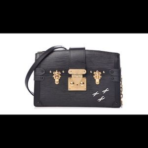 Louis Vuitton Trunk Clutch with chain